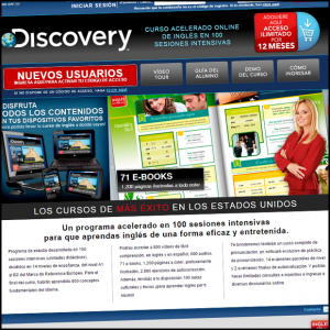 Inglés en 100 Días Discovery